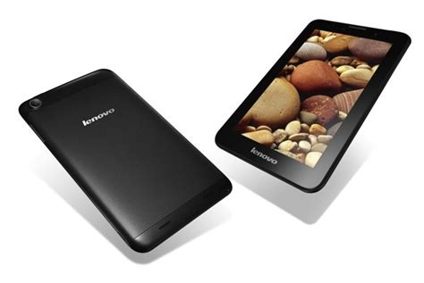 Tablet Lenovo Idea A3000 lenovo rolls out three new android tablets 7 inch a1000 and a3000 and 10 inch s6000