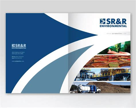 professional company brochure design by carlos fernando on