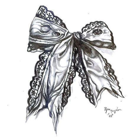 bow tattoo design