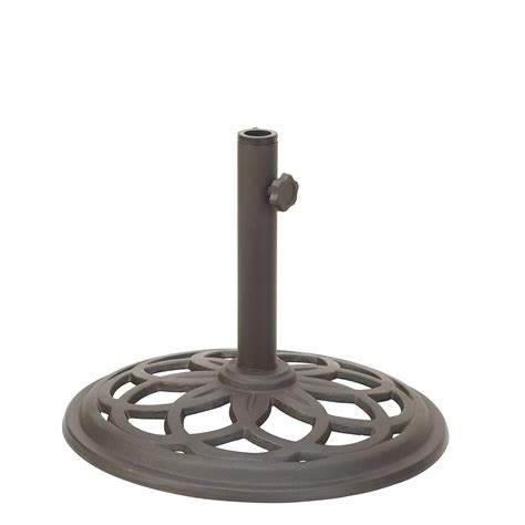 Patio Furniture Umbrella Base Garden Oasis Cameron Umbrella Base Outdoor Living