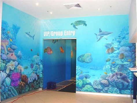 aquarium murals google search playroom   room