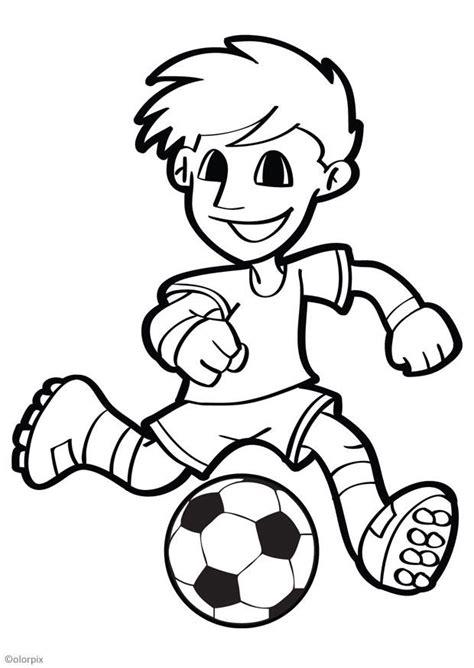 Imagenes Para Colorear Futbol   dibujo para colorear f 250 tbol img 26040
