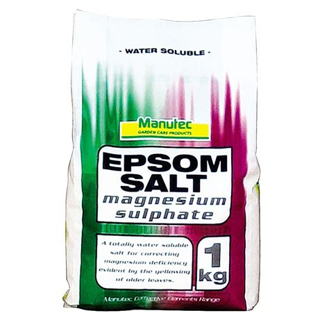Plumbing Supplies Epsom by Manutec 1kg Epsom Salt