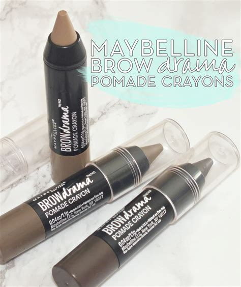 Pomade Maybelline maybelline brow drama pomade crayons i all the words