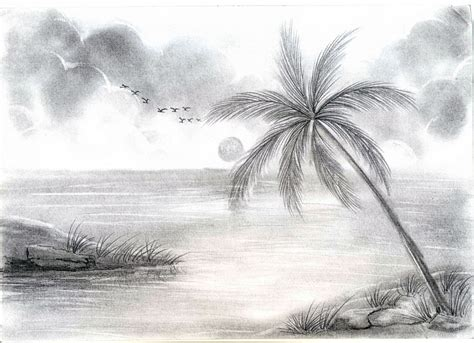 most beautiful scenery drawing tag easy pencil shading beautiful nature pencil sketches drawing library
