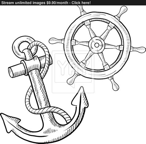 nautical ship wheel coloring pages coloring pages