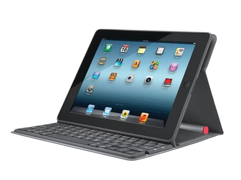 Solar Powered Keyboard by Logitech Solar Bluetooth Keyboard Folio For 1 2
