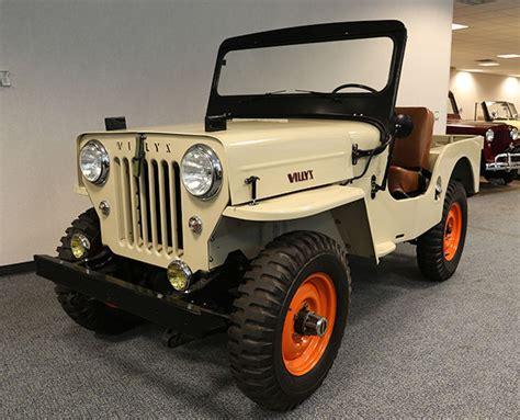 1964 Willys Jeep 1964 Willys Cj3b Morris 4x4 Center