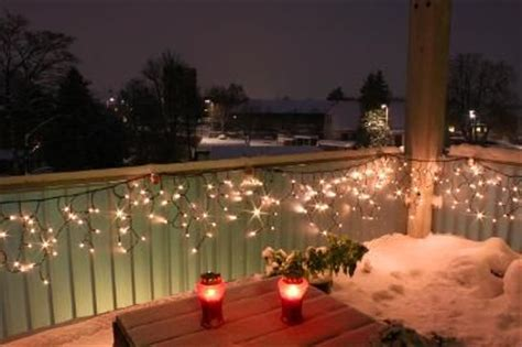christmas at the balcony 21 best images about balcony winter lighting on search balcony decoration and