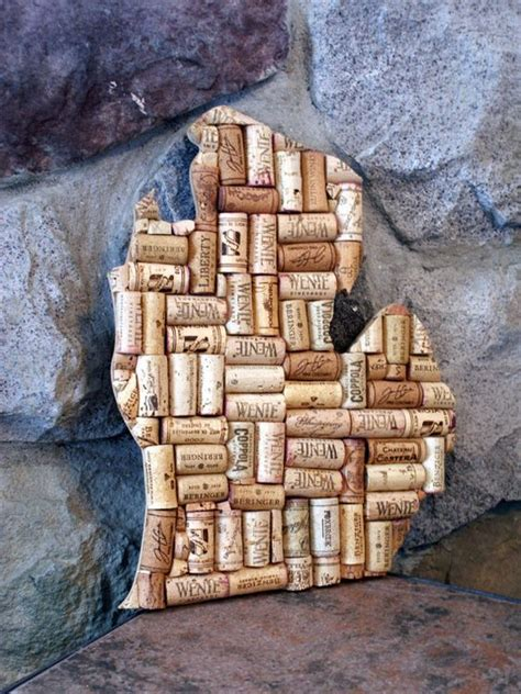 wine decor wine cork crafts and cork crafts on