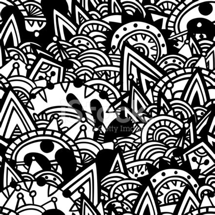 aztec pattern black and white free black and white aztec seamless pattern stock vector
