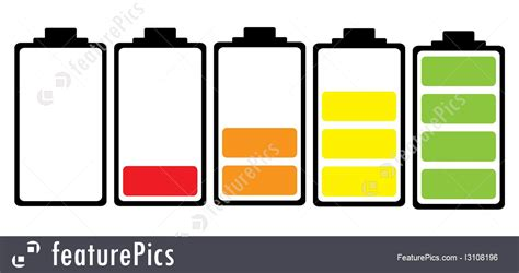 Search For Free No Charge At All Battery Charge Colour Icon Illustration