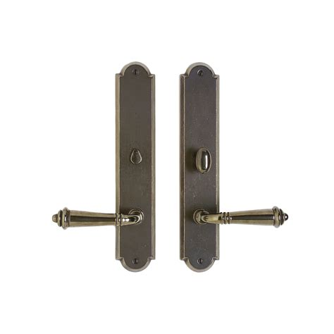 Interior Door Hardware Sets Arched Privacy Set 2 1 2 Quot X 13 Quot Privacy Mortise Bolt Latch E739 Rocky Mountain Hardware