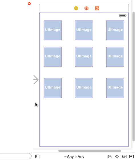 layout row height ios creating a 3x3 grid with auto layout constraints