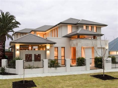 Fotos De Fachadas De Casas Bonitas Vote Por Sus Fachadas Blue Modern Concrete House Plans