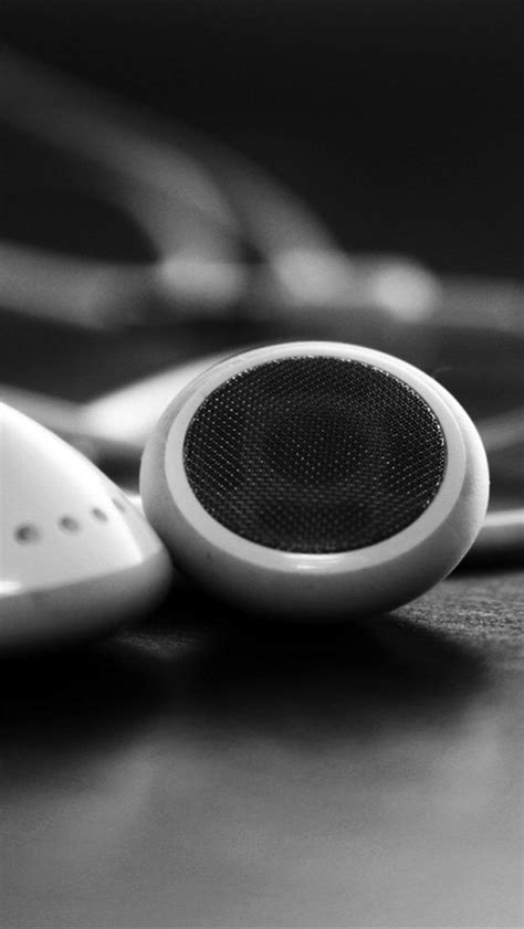 white headphones iphone  wallpapers hd  iphone