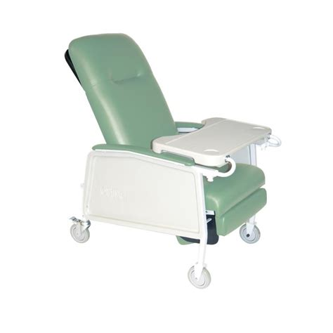 Jerry Chair by 3 Position Heavy Duty Bariatric Geri Chair Recliner Jade