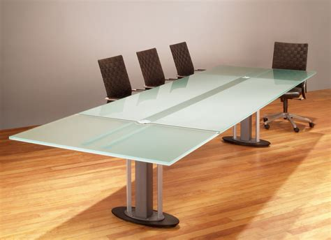 Glass Top Meeting Table Tangent Glass Conference Table Stoneline Designs