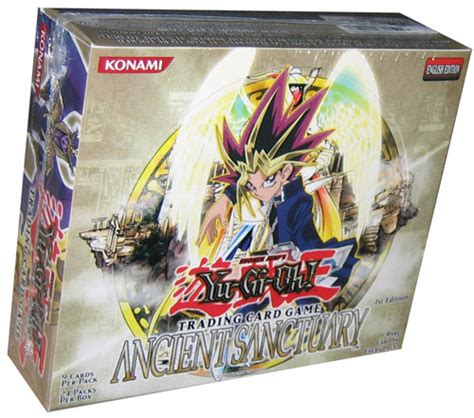 Yu Gi Oh Box 1 Yu Gi Oh Ancient Sanctuary 1st Ed Booster Box Hill S