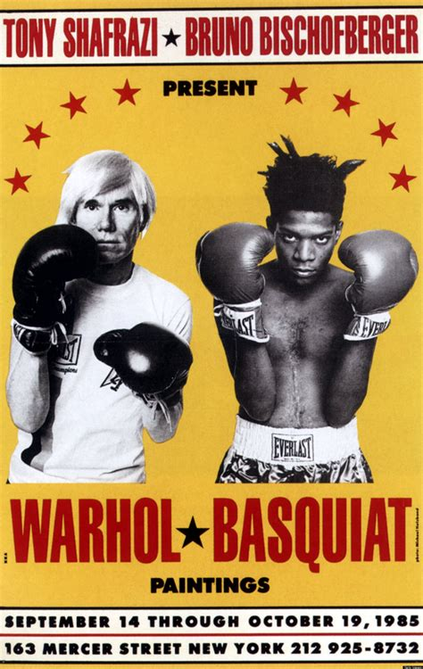 andy warhol biography in spanish basquiat s biggest fan who famously paired him with warhol