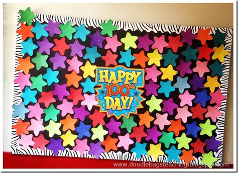 Decoration Ideas For Teachers Day Celebration by 100th Day Bulletin Board And Decoration Ideas