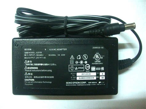 Power Supply Epson L1800 New free shipping new power supply cord charger ac adapter cable for epson v500 v600 v700 v750