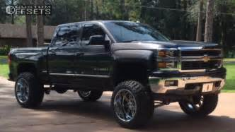 2014 Chevy Truck Custom Wheels 2014 Chevrolet Silverado 1500 Alloy Ion Style 183 Fabtech
