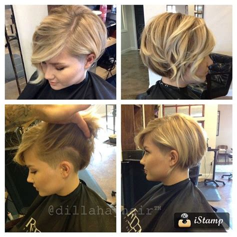my hair is only short on the sides how can i do a sewin bob with hidden undercut on side and back eliminates neck