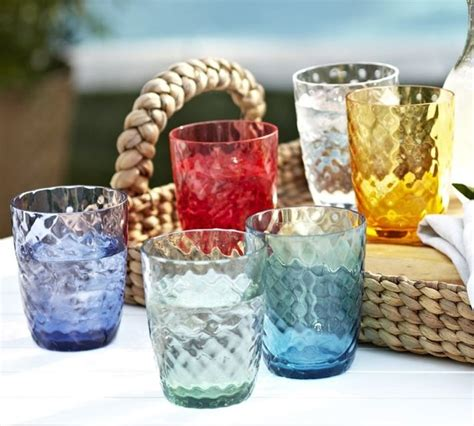 outdoor barware oceana outdoor drinkware traditional everyday glasses