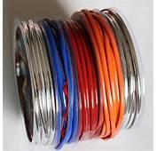 Colorful Decorative Lines Corner