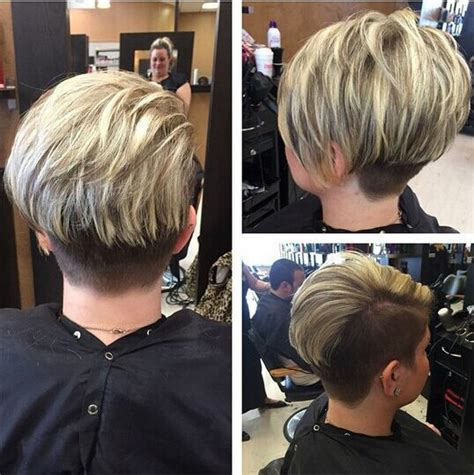 stacked bob pixie haircuts pin very short stacked bob on pinterest