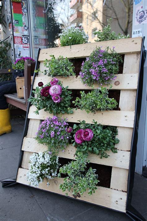 21 Vertical Pallet Garden Ideas For Your Backyard Or Balcony Pallets Garden Ideas