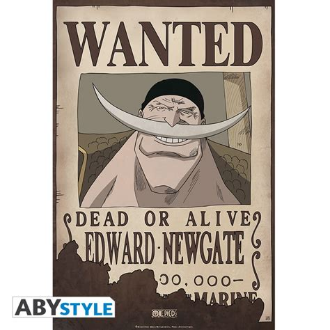 Poster Wanted One one poster wanted edward newgate 52x35cm abystyle