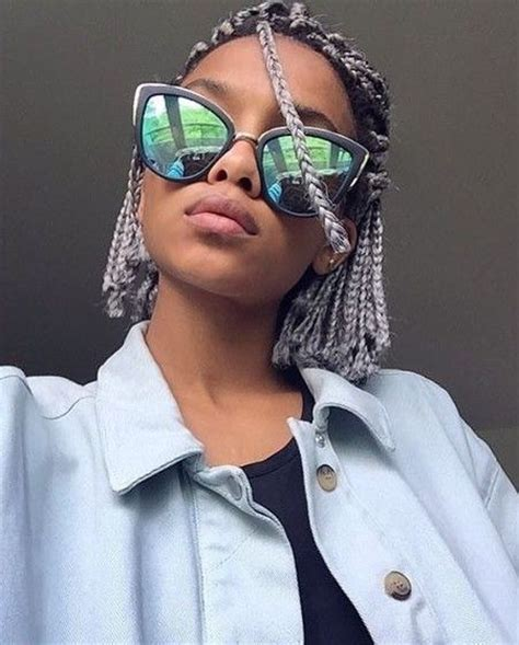 30 braids and braided hairstyles to try this summer 30 short box braids hairstyles for chic protective looks