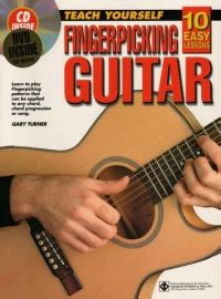 dvd tutorial fingerstyle 10 easy lessons fingerpicking guitar cd dvd sheet