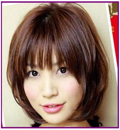 hairstyles thick bangs 17 best images about hair on pinterest mid length hair