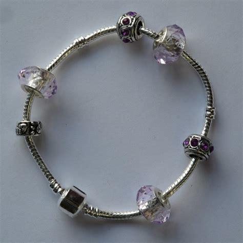 pandora style pandora style armband met licht roze facetbedels blubbie nl