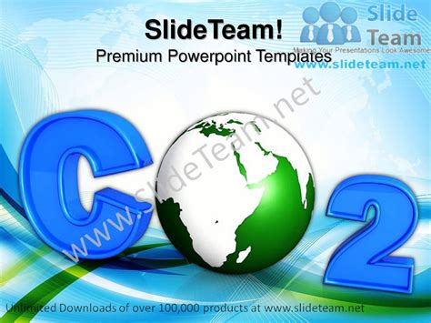 Co2 Atmospheric Pollution Environment Powerpoint Templates Air Pollution Ppt Templates Free