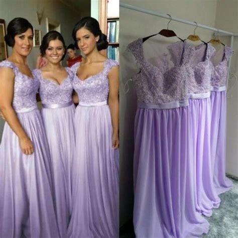 Bridesmaid Dress Material Options - lavender bridesmaid dresses chiffon bridesmaid dress