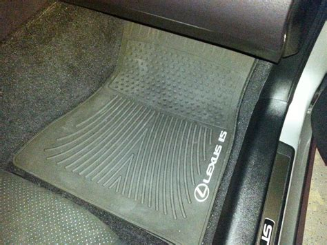Is300 All Weather Floor Mats by Pa Lexus Is All Weather Floor Mats Club Lexus Forums