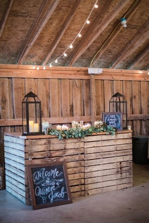 The Barn Bar 30 Barn Wedding Ideas That Will Melt Your Deer