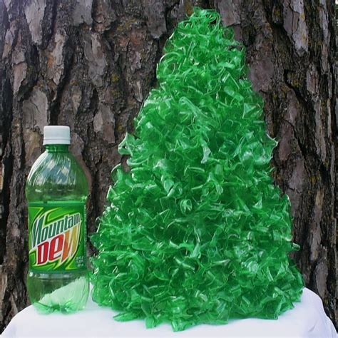 How To Make Recycled Decorations by Tree Made From Recycled Plastic Bottles