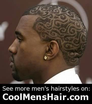 Kanye West Hairstyle by Kanye West Hairstyles Buzz Cut And Tribal