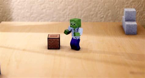 imagenes en movimiento de minecraft 我的世界动态图 超搞笑的mc图片 wdsj下载站