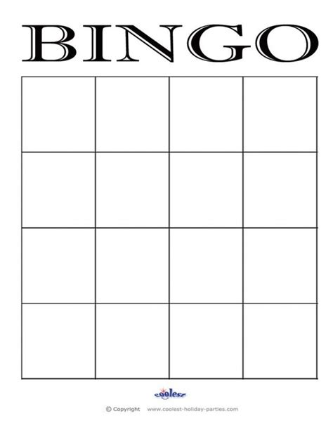 printable violin cards template bingo card template smart gallery printable templates 4 4