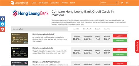 hong leong bank housing loan calculator compare hong leong bank credit cards in malaysia