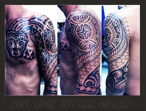 tattoo studio ubud bali black and grey yan tino tattoo ubud