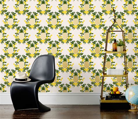 pineapple room home decor gets fruity makeover of t o