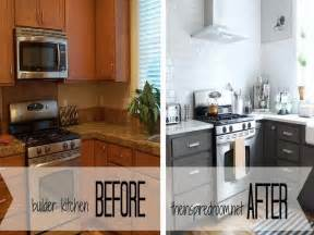 Before And After White Kitchen Cabinets Pink Painted Kitchen Cabinets Quicua
