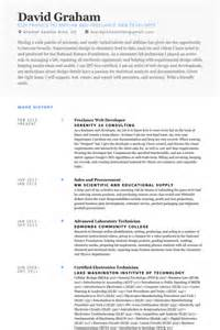 freelance web developer resume sles visualcv resume